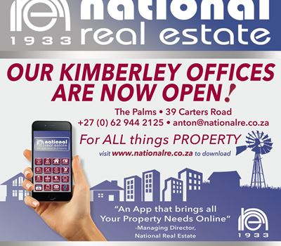 Our Kimberley Offices are now open